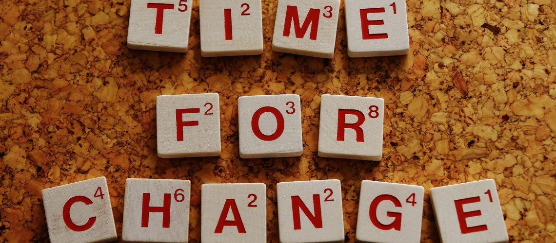 שינוי דפוס התנהגות קבוע